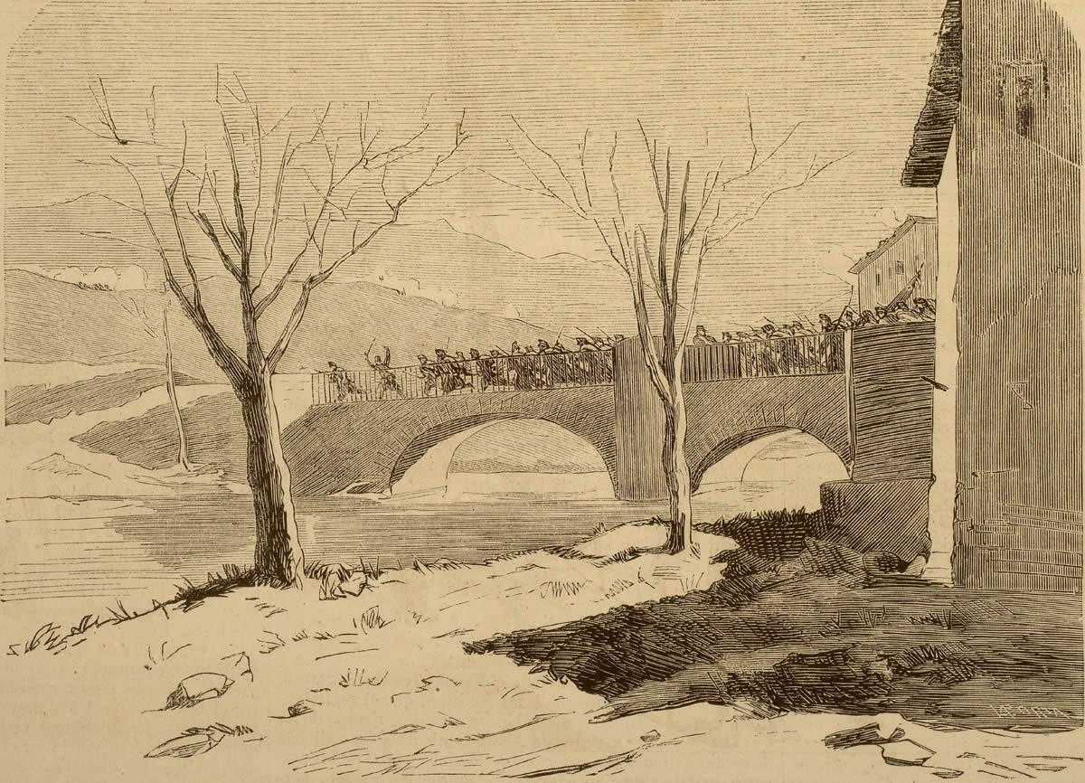 Las batallas de Somorrostro (Bizkaia): 24 de febrero de 1.874